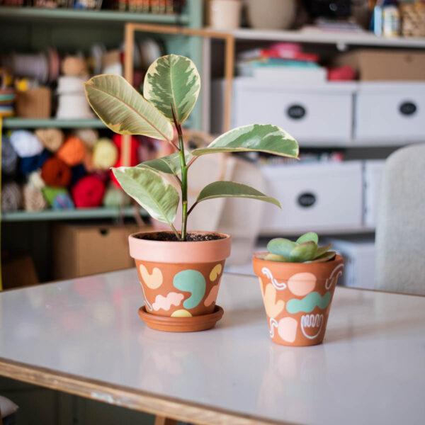 Ashinyday.com DIYcrafts-κεραμικά-γλαστράκια