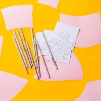 Ashinyday-MiniColoringPages-plusPencils